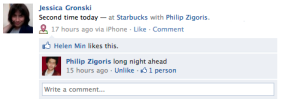 Starbucks News Feed Story