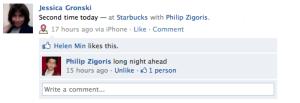 Starbucks News Feed Story