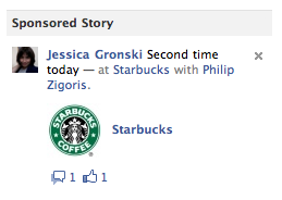 Starbucks Sponsored Story