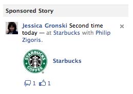 Starbucks Sponsored Story