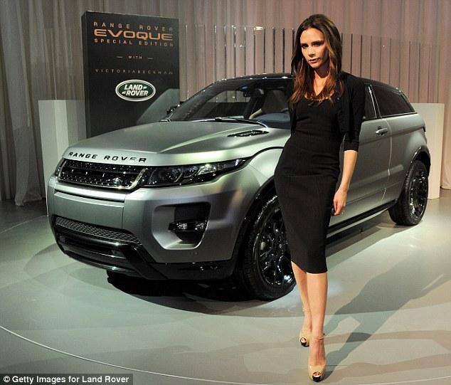Victoria Beckham and Range Rover Evoque