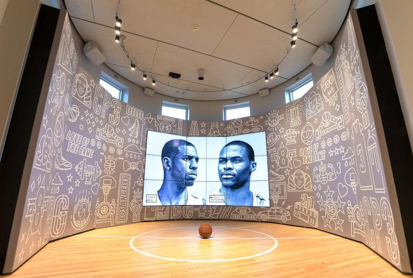 Basketball activation at Nike, The Grove in LA